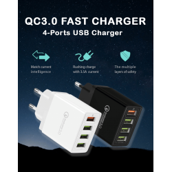 4-Port Usb Fast Charger