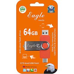 64GB Anti-Virus Flash Drive With OTG Slot