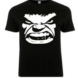 Angry Dude Design Round Neck Shirt