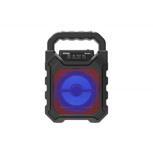 "Max Power Boom - M2 4"" Portable Bluetooth Speaker & FM Radio - Black"