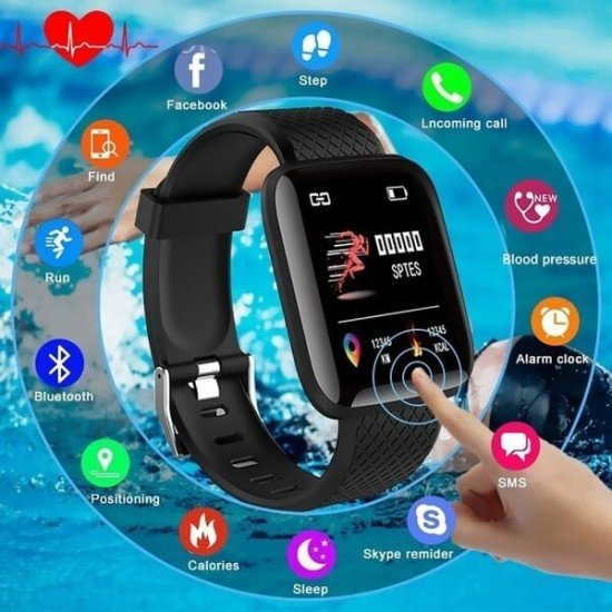Smart Bracelet with Blood Pressure Monitoring at discounted price - smart wear