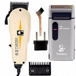 Chaoba Hair Clipper and Yandou  Rechargeable Shaver