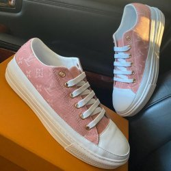 "Louis Vuitton Sneakers ""Pink-White"""