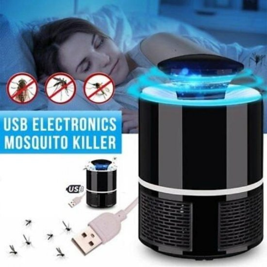 Electronic NOVA nv-818 Mosquito Killer lamp USB LED Insect Killer Light For indoor bedroom office