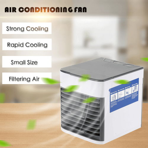 New Portable Air Conditioner with 12000mAh Powerbank at discounted price - cooling system