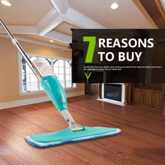 Microfiber Spray Mop Floor Sweeper at discounted price - home cleaning