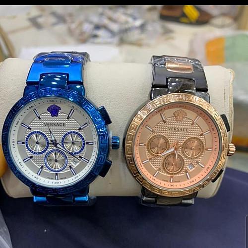 Versace Chronograph Chain Watch