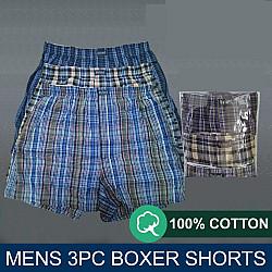 Victan 3-in-1 Woven Premium Men's Boxers