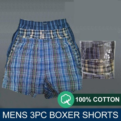 Victan 3-in-1 Woven Premium Men's Boxers at discounted price - underwear