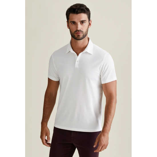 Men's Premium Polo Shirt - White