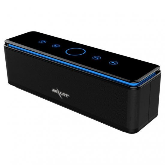 3D Bass Stereo Wireless Bluetooth Speaker With 8000mAH  In-built Powerbank and Soft-Touch