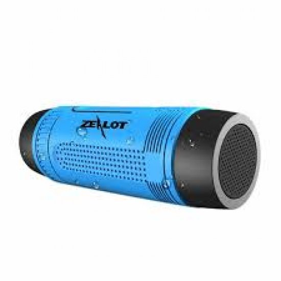 Zealot S1 Bluetooth Speaker With 4000Mah Power Bank and Flashlight